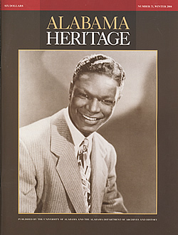 Alabama Heritage, Issue 71, Winter 2004