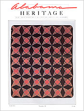 Alabama Heritage Issue 30, Fall 1993