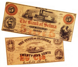 Nineteenth-century paper currency