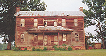 The Jared Gross home, Old Eastaboga