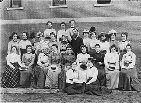 The first faculty of the Alabama Girls' Industrial School