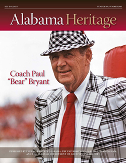 Alabama Heritage Issue 109 Summer 2013
