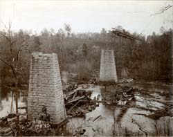 Alabama Heritage_1896 Cahaba Bridge Train Wreck