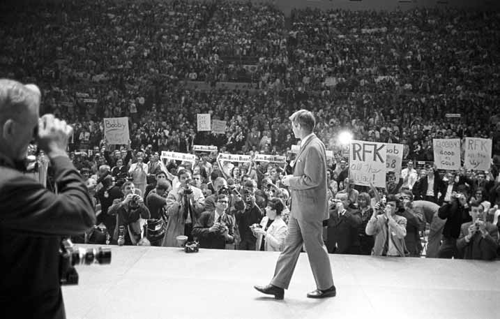 Robert F. Kennedy at UA 1968