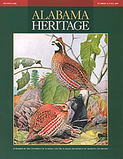 Alabama Heritage Issue 74, Fall 2004