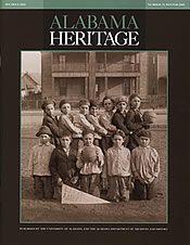 Alabama Heritage Issue 75, Winter 2005