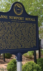 Alabama Heritage Anne Newport Royall