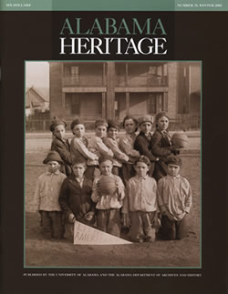 Alabama Heritage, Issue 75, Winter 2005