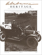 Alabama Heritage Issue 25, Summer 1992