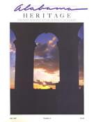 Alabama Heritage Issue 6, Fall 1987