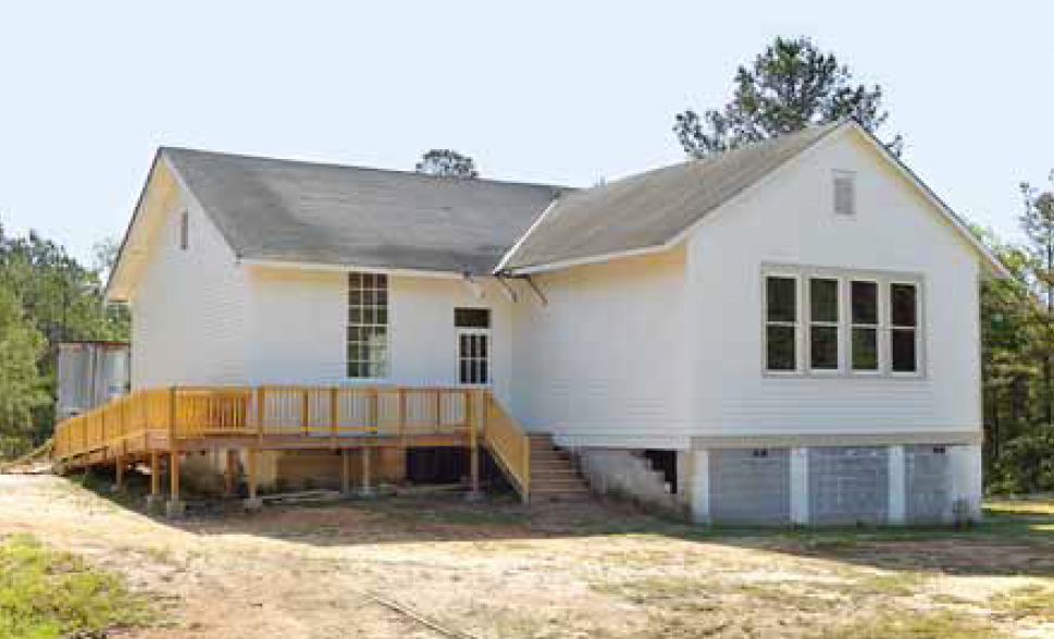 White Renovated Building (Shiloh Rosenwald School)