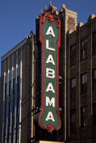 Alabama Theatre Sign