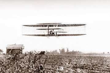 Wright Brothers Biplane Montgomery, Alabama